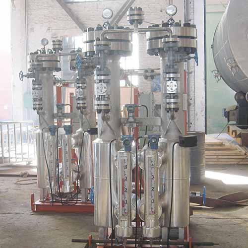 Filter Separator Vessel, Skid Mounted,SS304